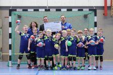 20190126 tvduelmen handball spende vrbank jugendarbeit