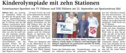 Kinderplympiade DJK TV