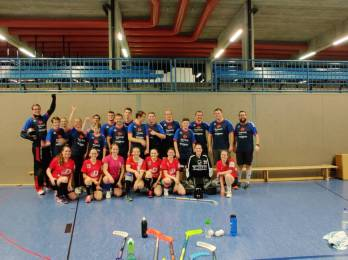 Floorball - Damen: Testspiel